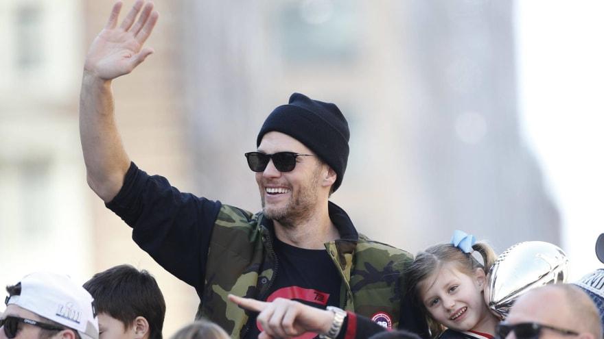 Watch: Tom Brady shares footage of himself flying down ski slope