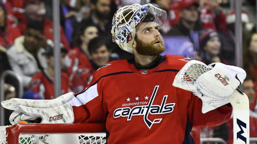 Capitals Facing Pivotal Decision With Braden Holtby Yardbarker
