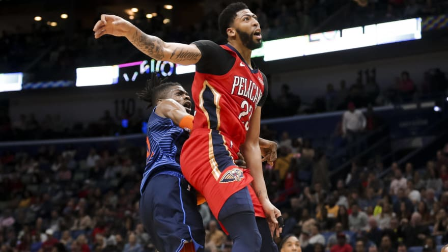 Anthony Davis Ruled Out Of Pelicans Game With Shoulder