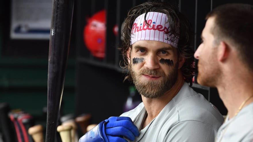 Bryce Harper on Nationals reaching World Series: 'So happy for them'