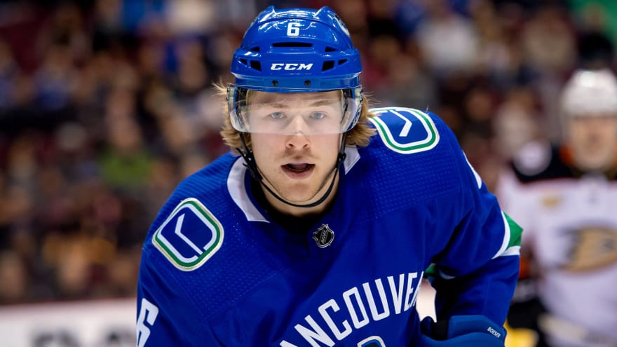 Brock Boeser looking for annual salary among top forwards in the NHL