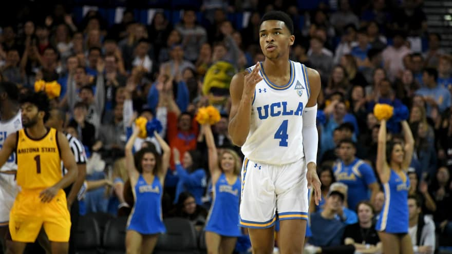 timeless design 1d181 7a8f7 Watch: UCLA's Jaylen Hands puts defenders on poster with ...