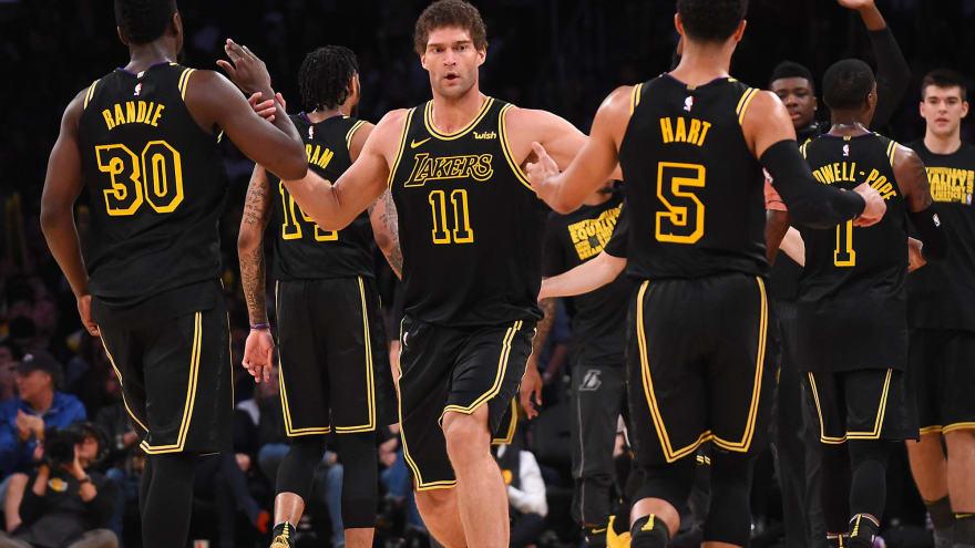 dae284b5220 Magic Johnson looks forward to Lakers  future
