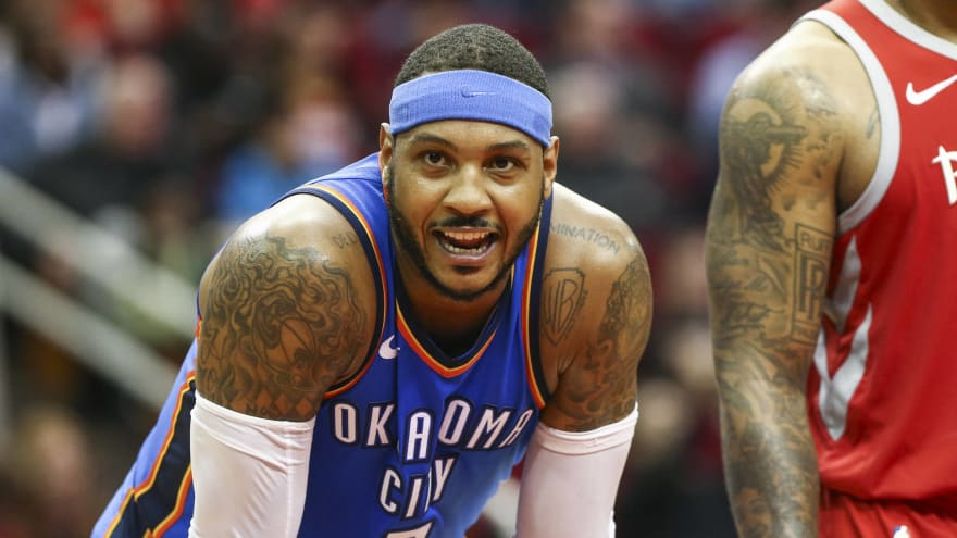 6fe8dceedf3e Mike D Antonio  Carmelo Anthony a  better fit  with Rockets. Originally ...