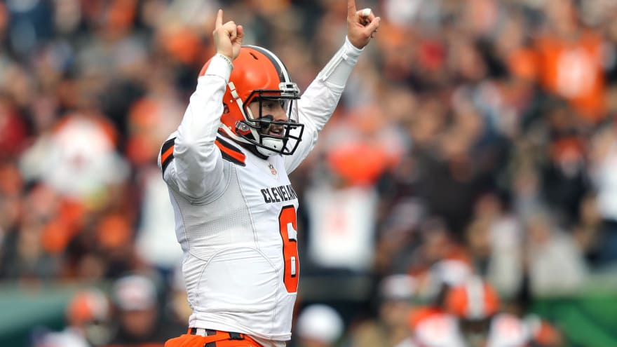 f6de62dd5 Twitter reacts to Baker Mayfield burning the Bengals early ...