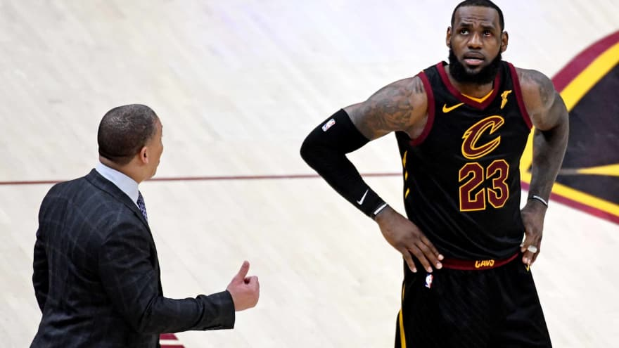 the best attitude ef445 48052 LeBron James passed Michael Jordan with playoff record in ...