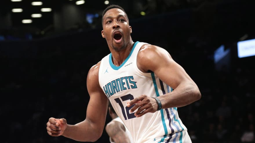 the latest 287ec 76cde Dwight Howard makes history, gets suspended | Yardbarker