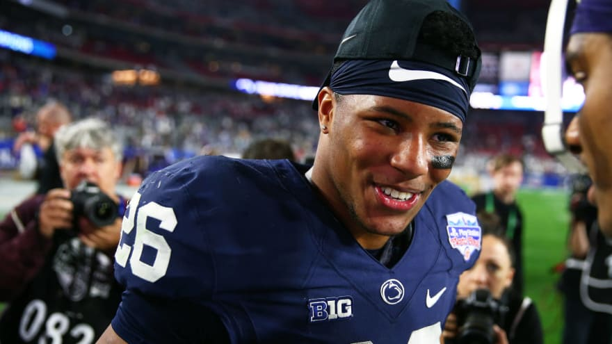 22680f825341 Report  Saquon Barkley signs with Roc Nation