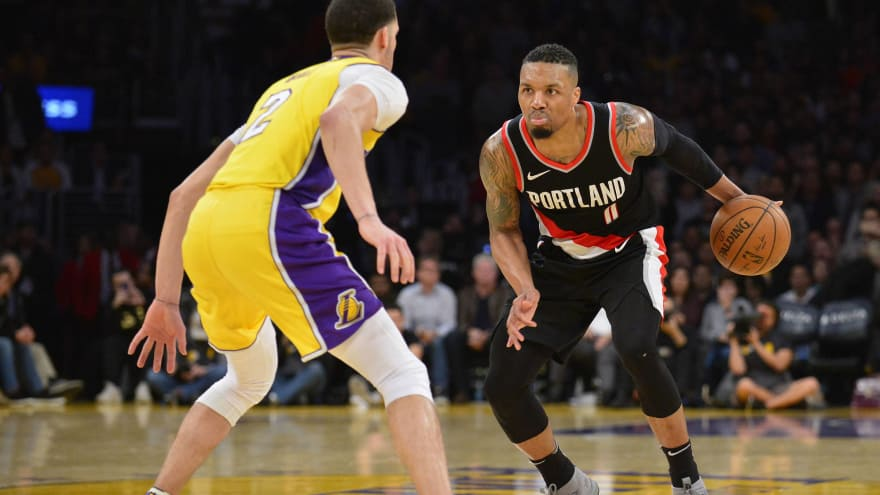 dae2a701ea1 Damian Lillard raises eyebrows with tweet about Lakers