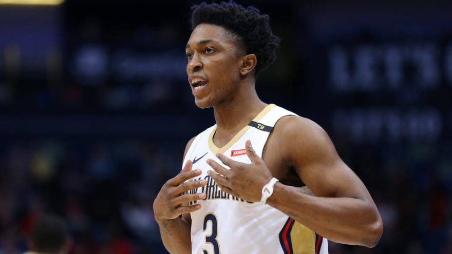 Watch: Reporter hilariously mistakes Raptors' Stanley Johnson for Pat McCaw