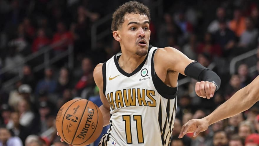 Watch Trae Young Spins Defender Around In Highlight Reel
