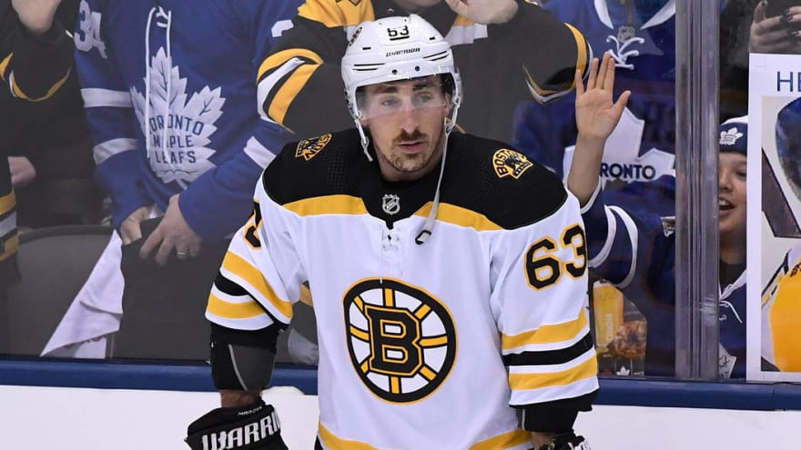 Brad Marchand, David Krejci expected to play in Game 1 of Stanley Cup Final