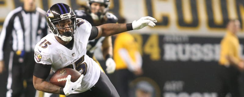 Report  Ravens set to release WR Michael Crabtree 2f043798c