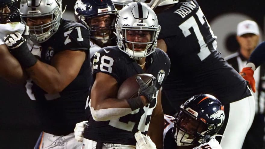 Week 7 NFL mismatches: Why Raiders rookie Josh Jacobs could power upset