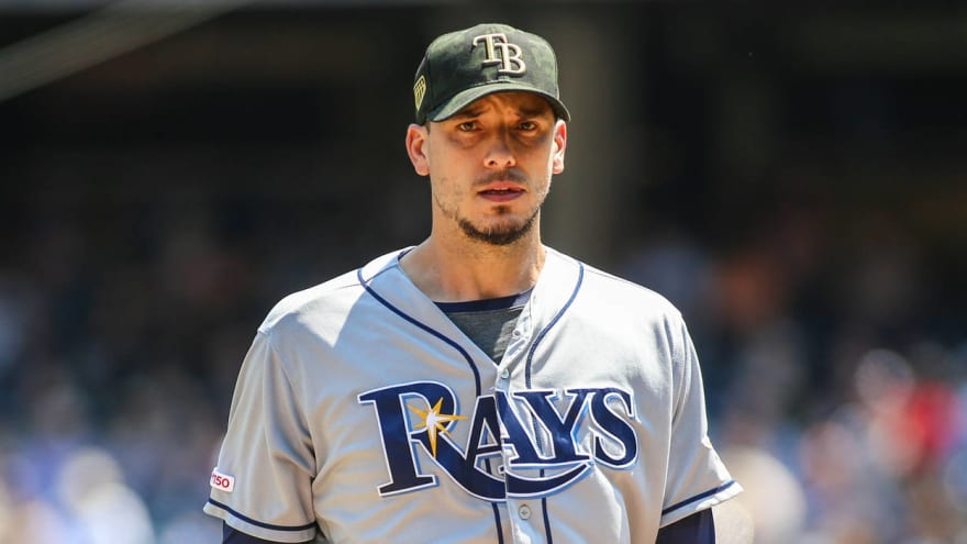 the rays may have another cy young contender in charlie morton yardbarker yardbarker com
