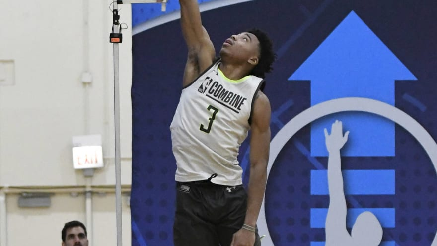 Several draft-eligible prospects declined to play in combine scrimmage