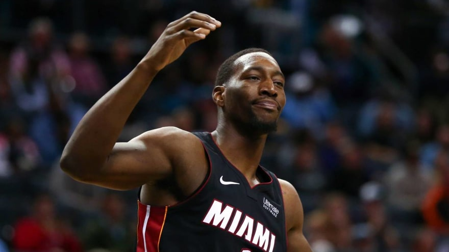 Bam Adebayo not looking forward to wearing Heat  cheerleader  jersey ... 67d8ee93f