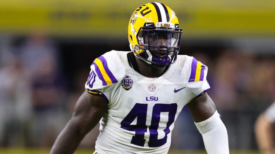 Watch Lsu S Devin White Pulls Out Cam Newton Celebration At