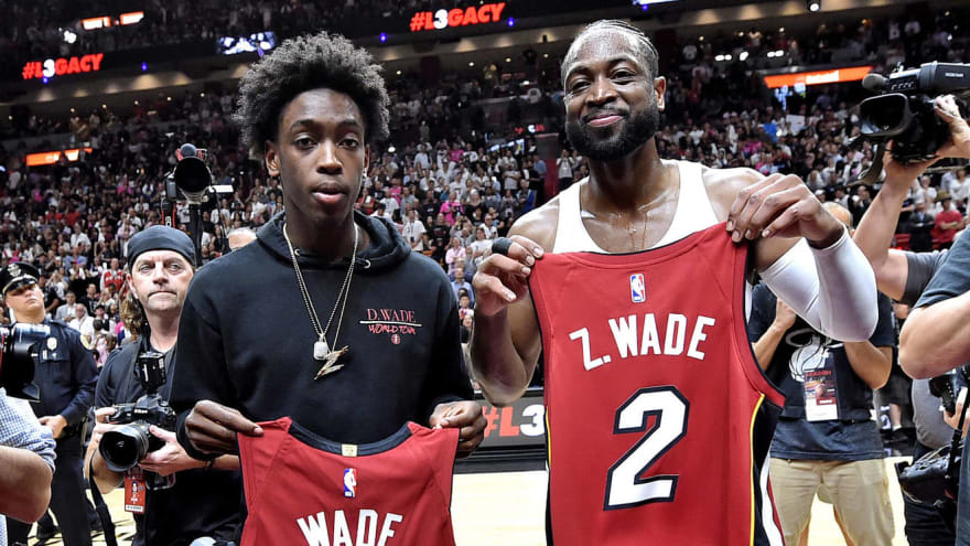 Dwyane Wade's son Zaire to join LeBron James' son Bronny at Sierra
