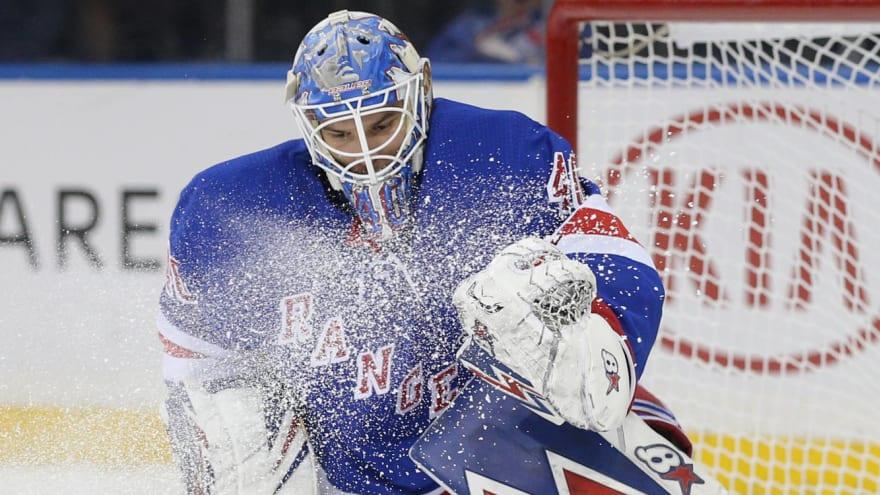Rangers reportedly willing to trade goaltender Alexandar Georgiev