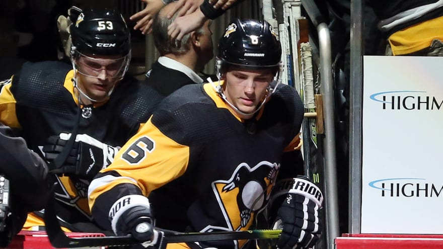 Penguins having a hard time moving one of their defensemen