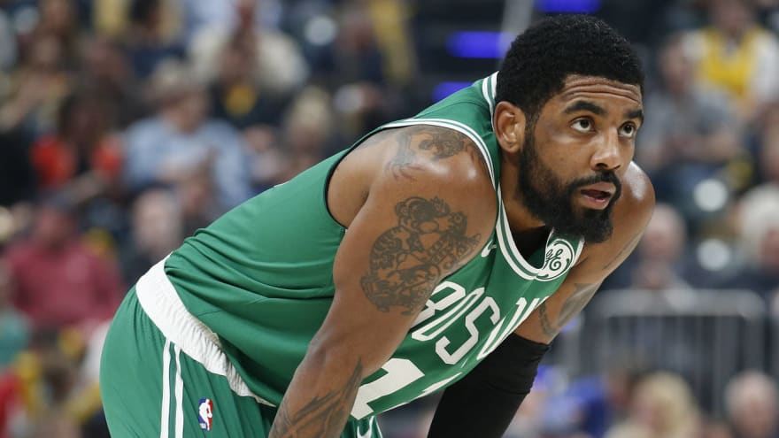 Report: Kyrie Irving wants to play with Anthony Davis