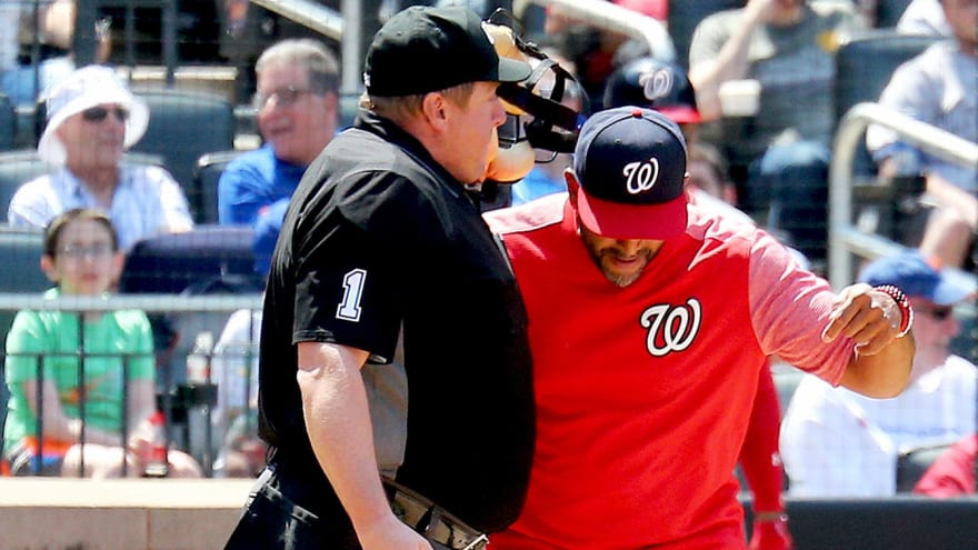 Nationals infielder Brian Dozier passionately defends manager Dave Martinez