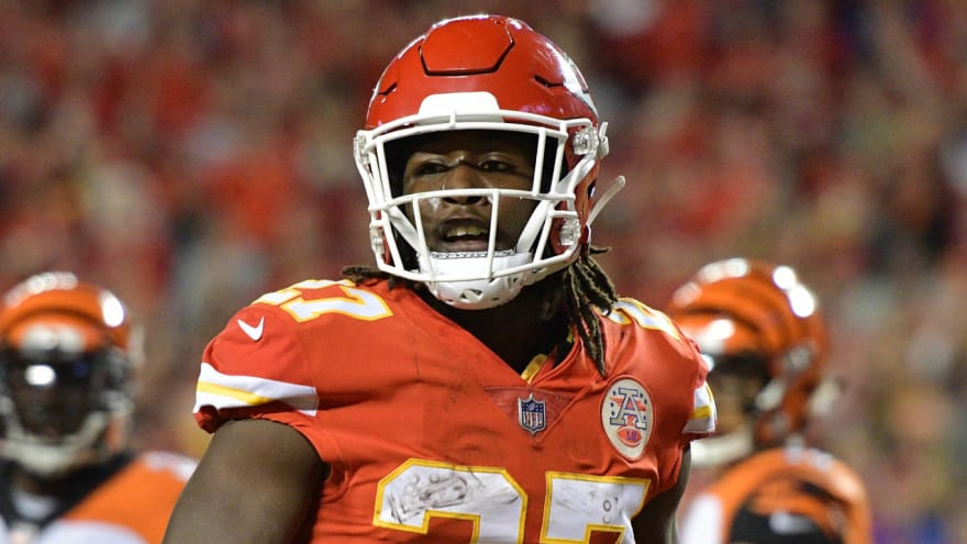online store 40570 e53dd Report: Chiefs expect a six-game suspension for Kareem Hunt ...