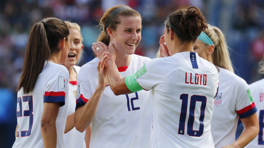 Watch: USWNT has cheeky response to celebration criticism