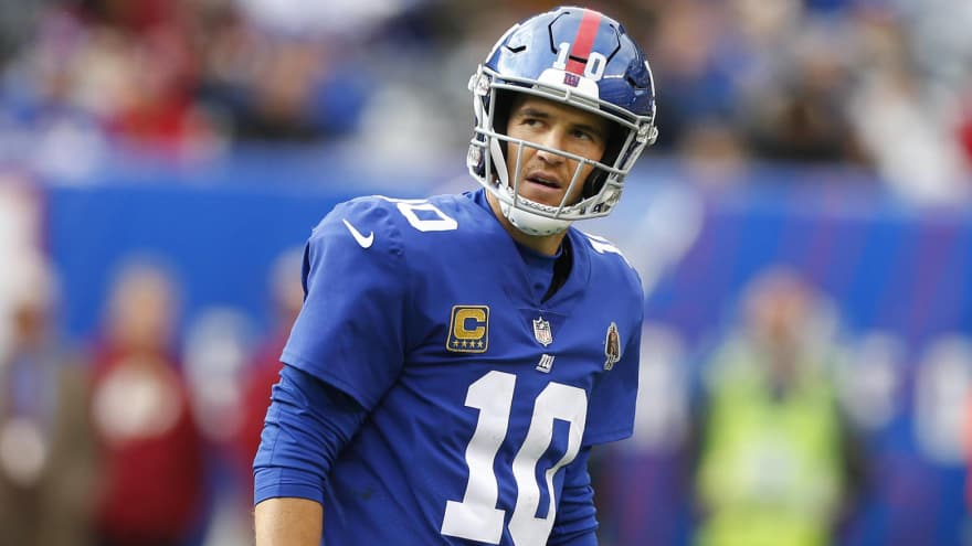 Eli Manning talks about possibly losing his starting job