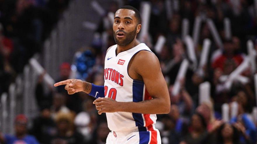 Wayne Ellington Critical To Pistons Postseason Pursuit Yardbarker