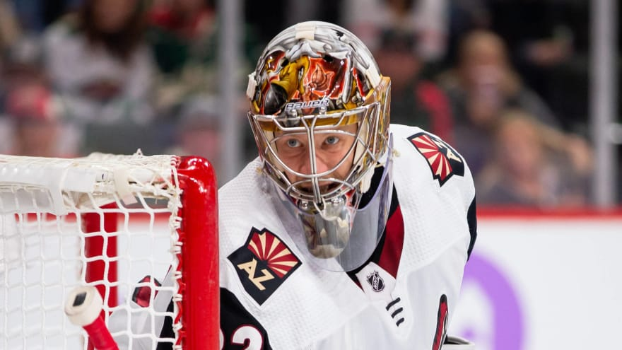 Antti Raanta out indefinitely, could be out for season