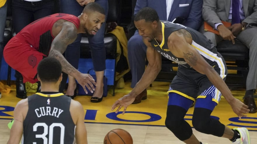NBA says referees were right not to call foul on Iguodala's late strip