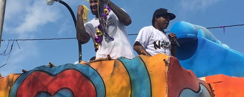 Box Score 2 28  Fat Tuesday means athletes on floats. 1466112cb