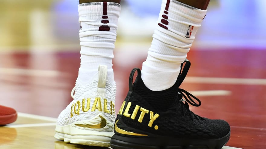 2c9ad04e16ee1a LeBron James explains why he wore  Equality  shoes for game in D.C. ...