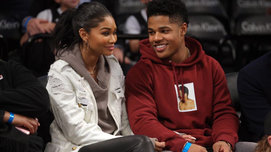 2b70cba76cbe Giants WR Sterling Shepard gets engaged to SI Swimsuit model ...