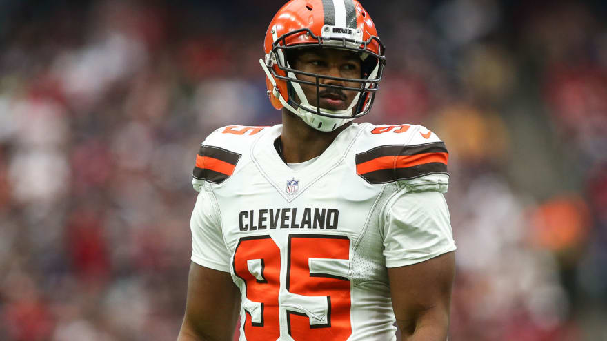 Browns DC 'pissed off' over Myles Garrett injury criticism