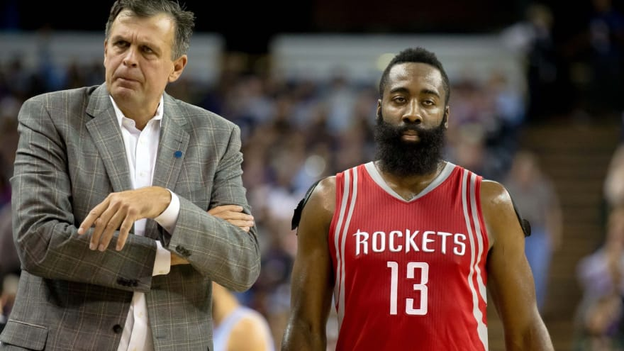 bb4cbc184cd Kevin McHale responds to James Harden calling him a  clown ...