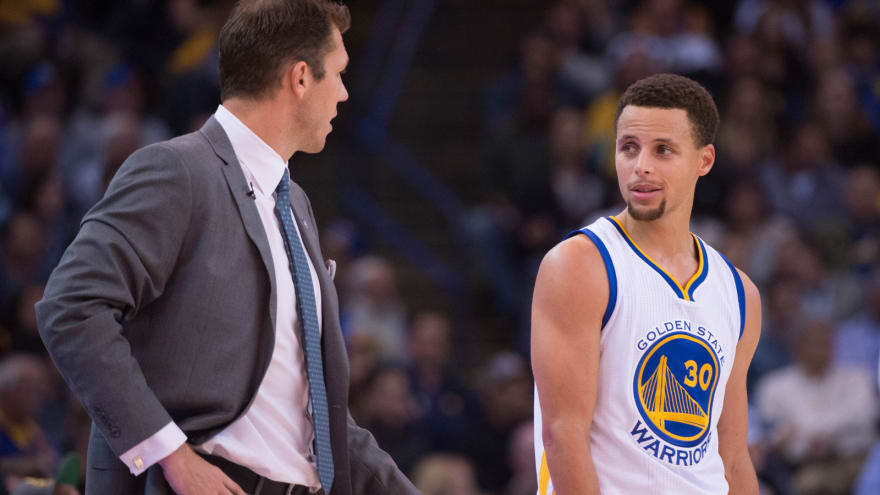 b85a2e8b164 Steph Curry trolls Luke Walton after Warriors blow out Lakers ...