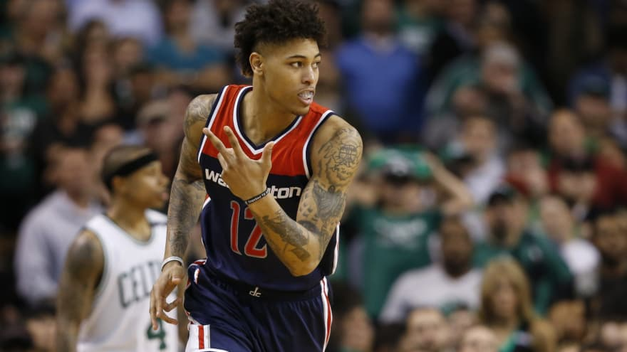 buy online 3de2e 78956 Wizards owner wears Kelly Oubre jersey to Game 4 | Yardbarker
