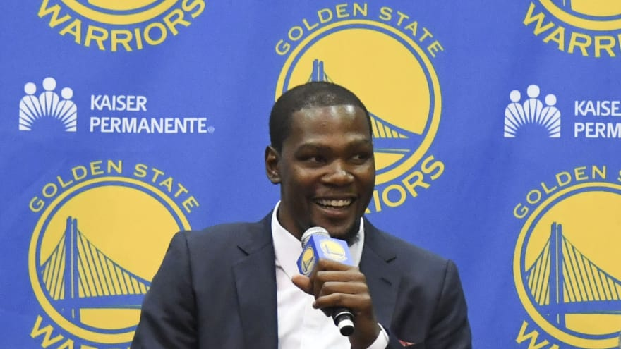 111d9e9b0a6 Kevin Durant on Stephen Curry sneakers   They were bad