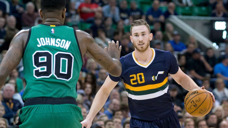 Report Jazz Open To Sign And Trade To Facilitate Gordon Hayward To The Celtics Yardbarker Com