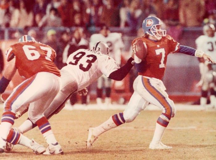Denver Broncos' best look: 1968-96 home