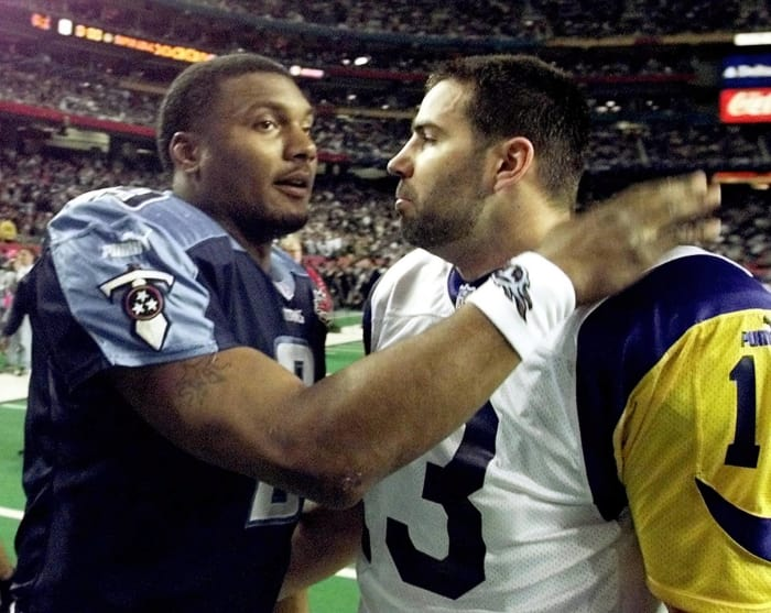 Super Bowl XXXIV: Kurt Warner, St. Louis Rams, and Steve McNair, Tennessee Titans