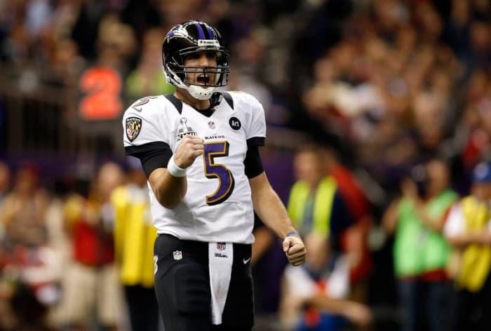 Joe Flacco, QB, Baltimore Ravens - Super Bowl XLVII