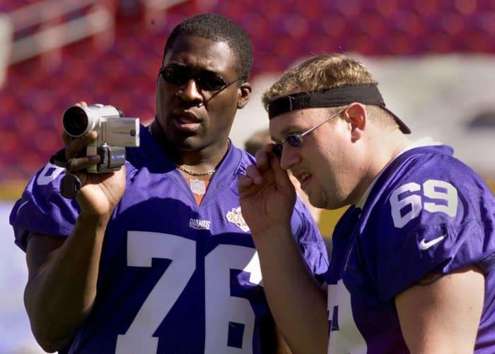 Lomas Brown, Age 37: Super Bowl XXXV