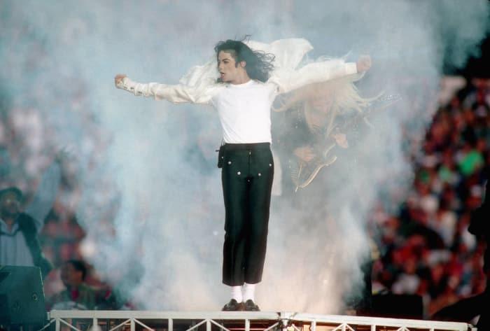Super Bowl XXVII halftime show - Michael Jackson