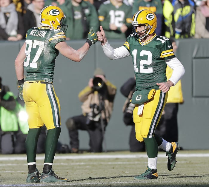 Green Bay Packers' best look: 1961-present home