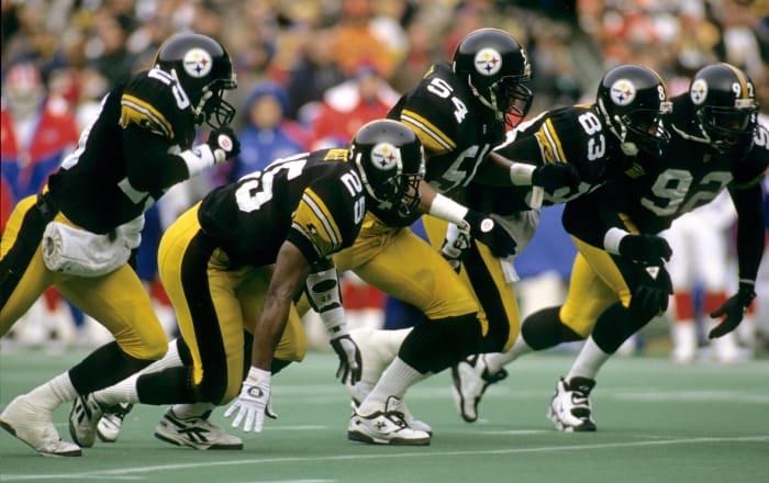 Pittsburgh Steelers' best look: 1968-96 home
