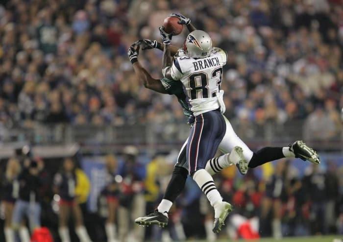 Deion Branch, WR, New England Patriots - Super Bowl XXXIX